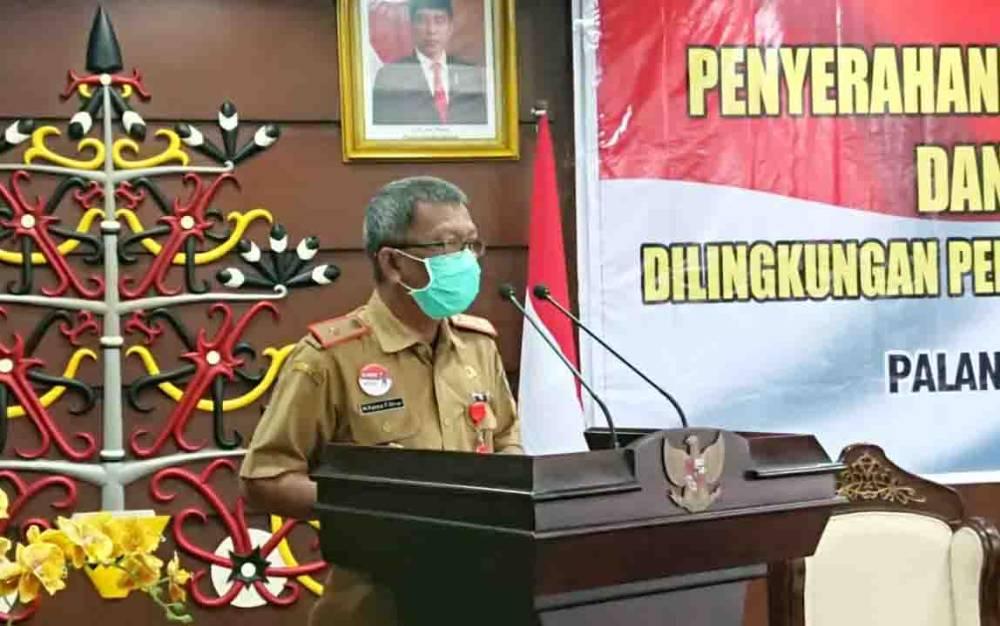 Kepala BKD Kalteng, Katma F Dirun