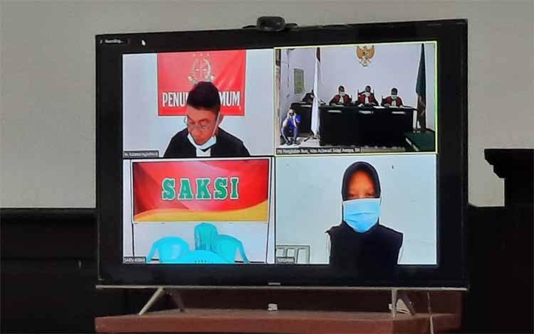 Terdakwa M diputus hukuman penjara selama 1 tahun 2 bulan, lantaran mengonsumsi sabu