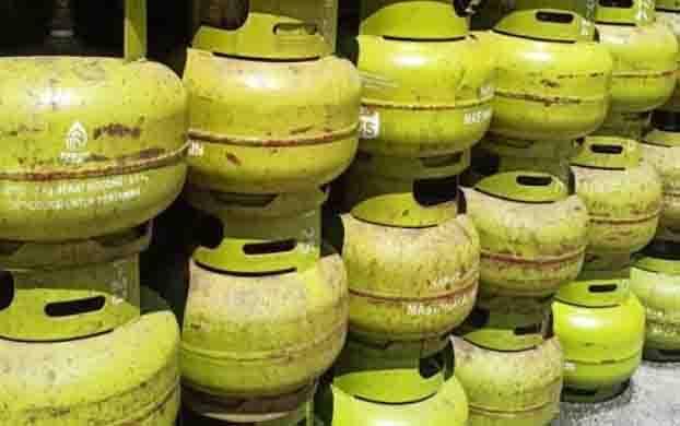 Gas elpiji 3 kilo gram di Kasongan masih dijual mahal meski pasokan lancar