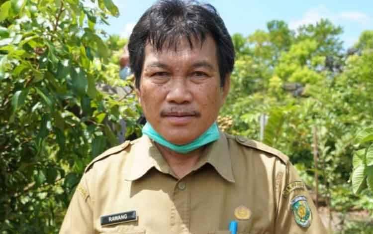 Kepala Dinas Perdagangan Koperasi UKM Perindustrian, Kota Palangka Raya, Rawang.