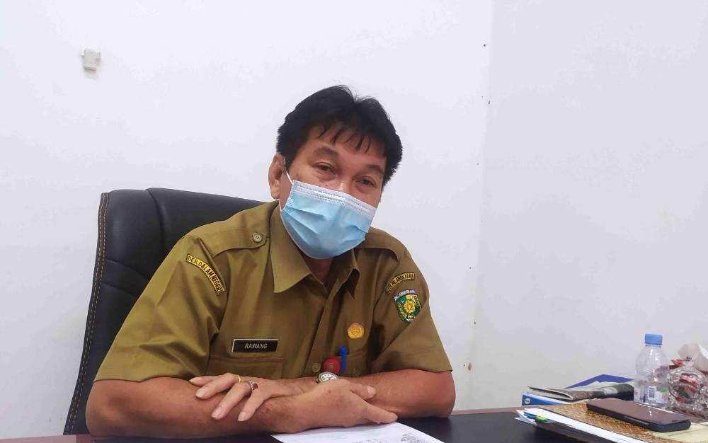 Kepala Dinas Perdagangan Koperasi UKM Perindustrian, Kota Palangka Raya, Rawang