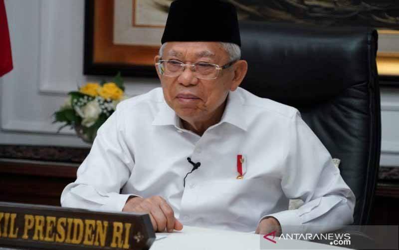 Wakil Presiden Ma'ruf Amin. (foto : Asdep KIP Setwapres)