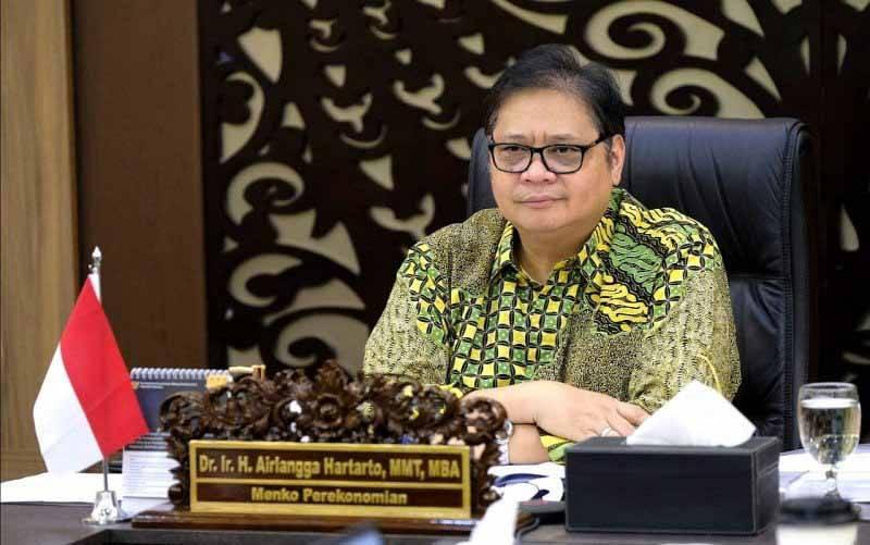 Menteri Koordinator Bidang Perekonomian Airlangga Hartarto (foto : Humas Kemenko Perekonomian)