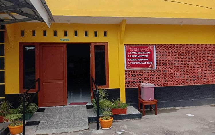 Bangunan ruangan disabilitas dan ruangan pendukung pelayanan di Disdukcapil Seruyan.