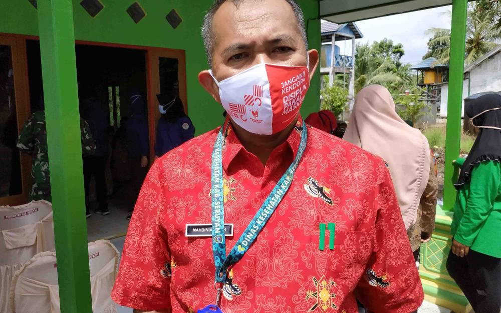 Kadis Kesehatan Kabupaten Seruyan, Mahdiniansyah