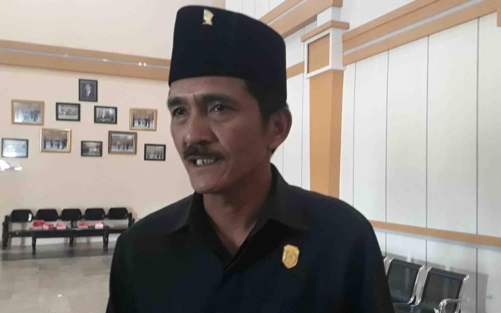 Wakil Ketua I DPRD Kobar Mulyadin. (Foto diambil sebelum pandemi Covid-19).