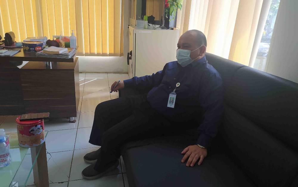 Ebed Kadarusman, Kepala Bank Kalteng Pulang Pisau Ketika Diwawancara Borneo News