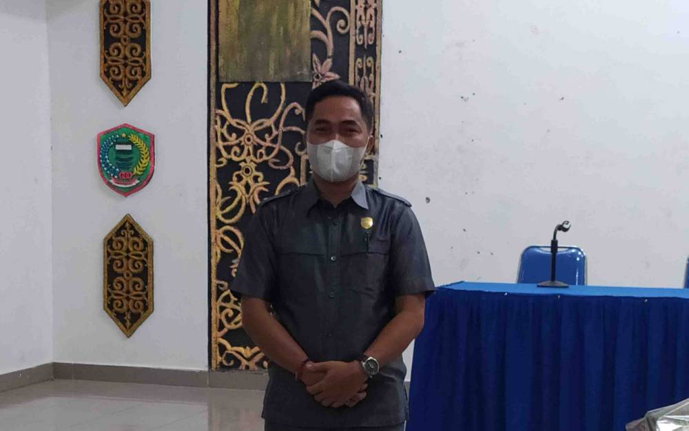 Tendean Indra Bella, Ketua Komisi I DPRD Pulang Pisau