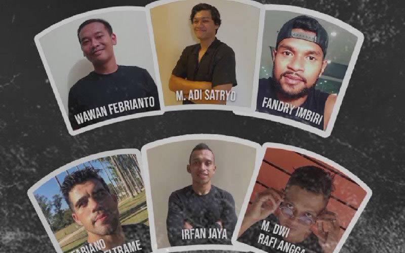Deretan pemain baru PSS Sleman yang diumumkan lewat laman Instagram resmi mereka. (foto : HO-Instagram PSS Sleman)