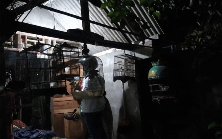 Rumah terduga teroris berinisial N di Jalan Tambak Asri, Gang Dahlia 2A No 27, Surabaya yang ditangkap Densus 88 Antiteror Mabes Polri, Senin (1/3). (ANTARA Jatim/HO/WI)