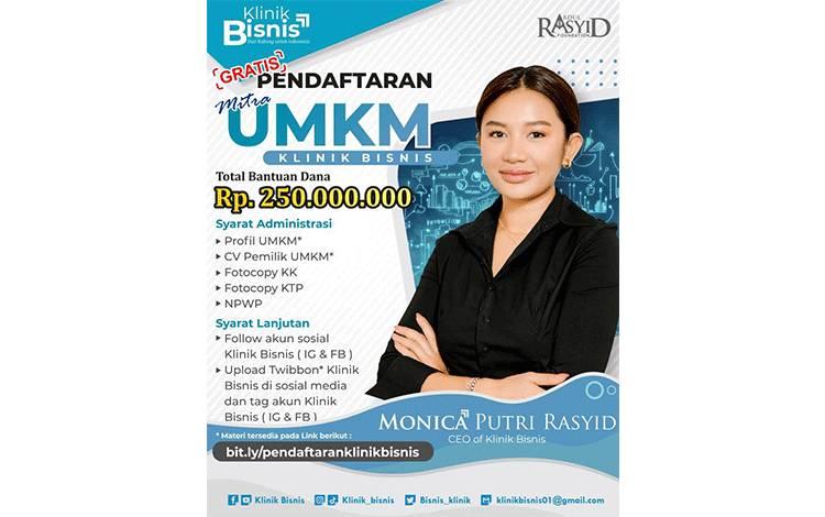 Klinik Bisnis Pelopor Pembinaan UMKM Berbasis Startup dari Kalimantan Tengah