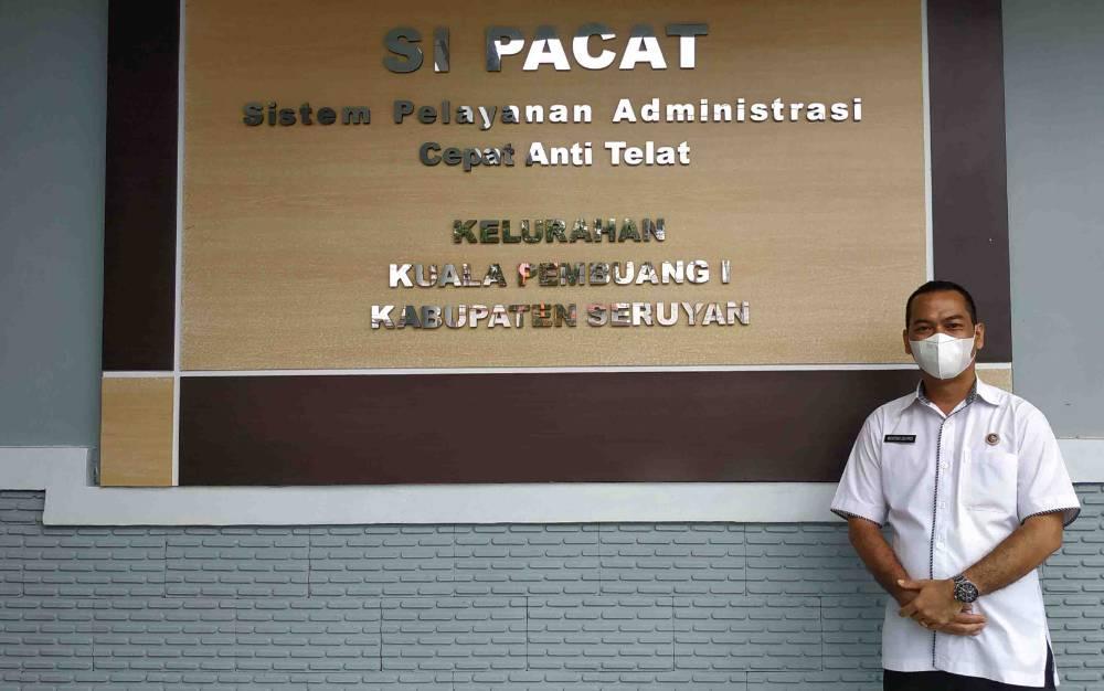 Si Pacat, Inovasi pelayanan di Kelurahan Kuala Pembuang I.
