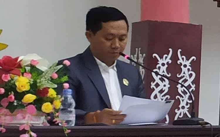 Anggota Komisi C DPRD Kota Palangka Raya, Sigit Widodo.