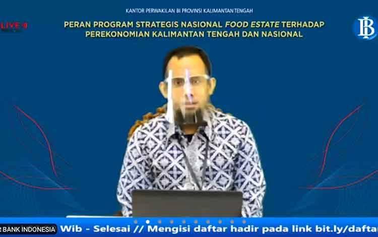 Deputi Kepala Perwakilan Bank Indonesia Provinsi Kalimantan Tengah, Yudo Herlambang