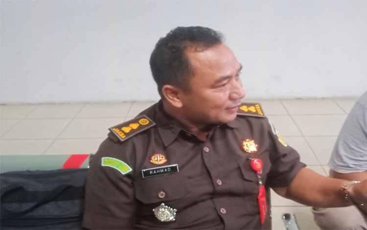 Kasi Penyidik Aspidsus Kejati Kalteng sekaligus Ketua Tim Penuntutan, Rahmad Isnaini