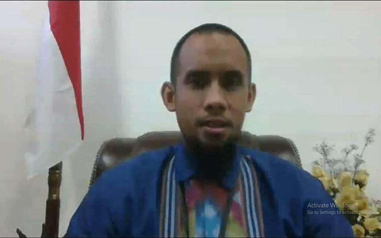 Deputi Kepala Perwakilan Bank Indonesia Provinsi Kalimantan Tengah, Yudo Herlambang.