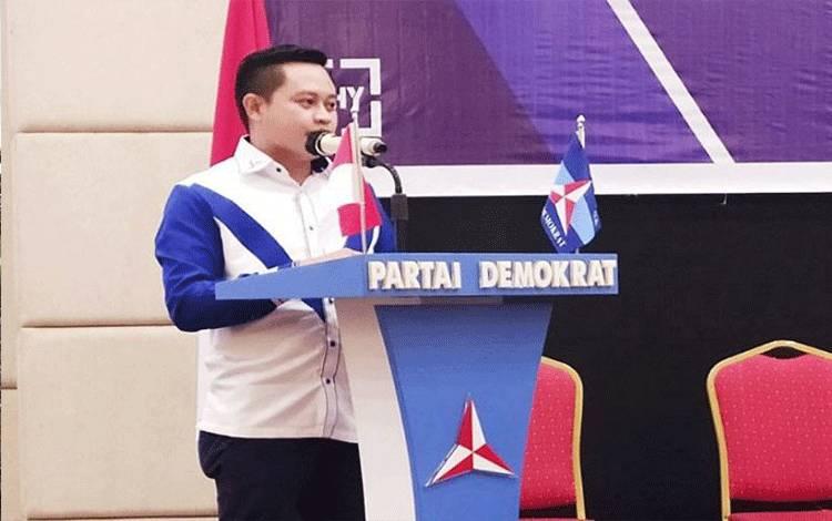Ketua Bappilu DPD Partai Demokrat Kalteng Edi Rustian. (ANTARA/HO/Dok Pribadi)