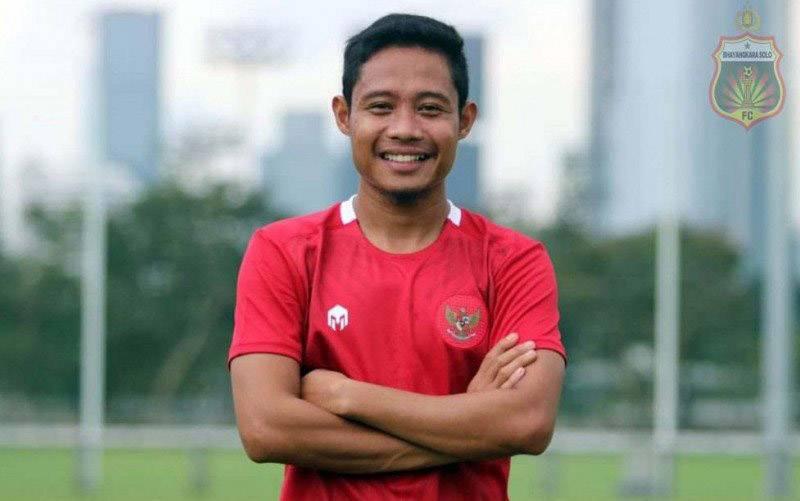 Gelandang Evan Dimas Darmono yang baru saja direkrut kembali Bhayangkara FC. (foto : HO/Bhayangkarasolofc.id)