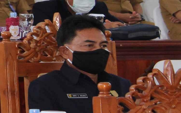 Anggota DPRD Kabupaten Gumas, Arit S Bajau