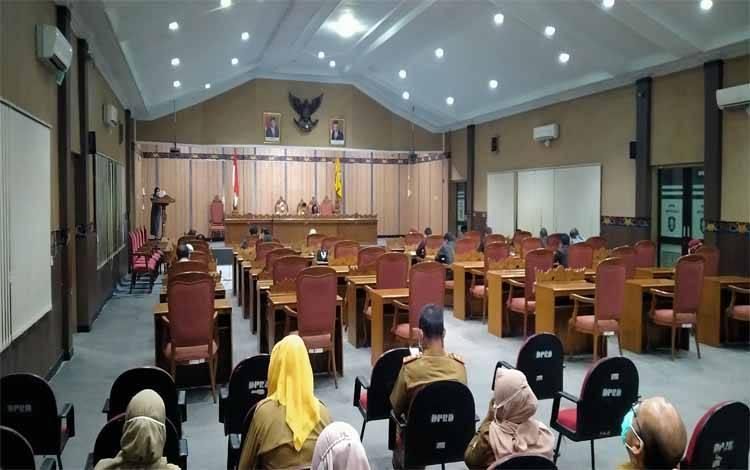 Penyampaian hasil reses di DPRD Kotawaringin Timur