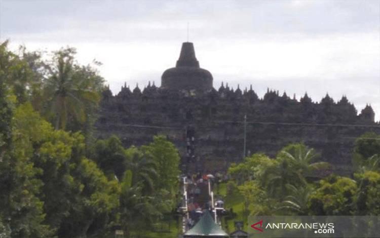 Candi Borobudur di Kabupaten Magelang, Provinsi Jawa Tengah (ANTARA/Hari Atmoko)