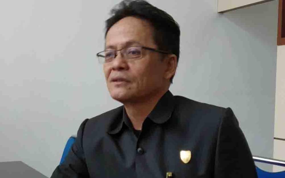 Ketua Komisi I DPRD Kalteng, Yohanes Freddy Ering.