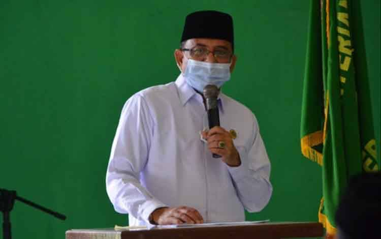 Kepala Kanwil Kemenag Kalteng, Abdul Rasyid