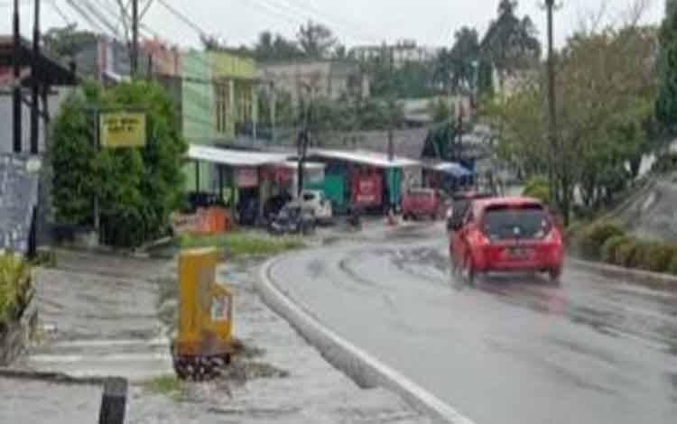 Turunan jalan Diponegoro, Pangkalan Bun.