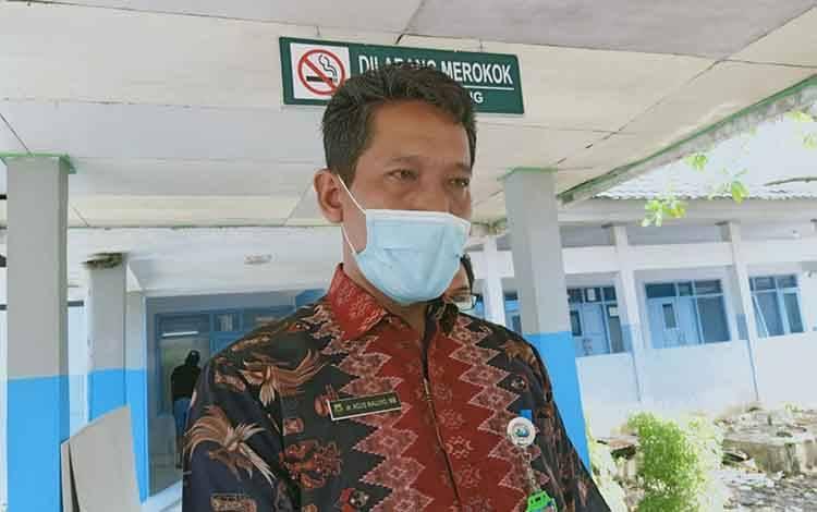 Direktur RSUD dr Soemarno Sosroatmodjo Kuala Kapuas, Agus Waluyo