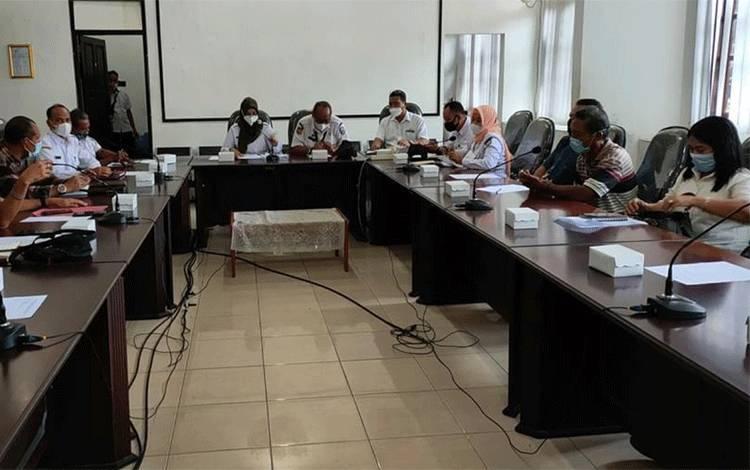 Pertemuan Wakil Bupati Kotim Irawati dengan sejumlah perwakilan PBS di Kotim.