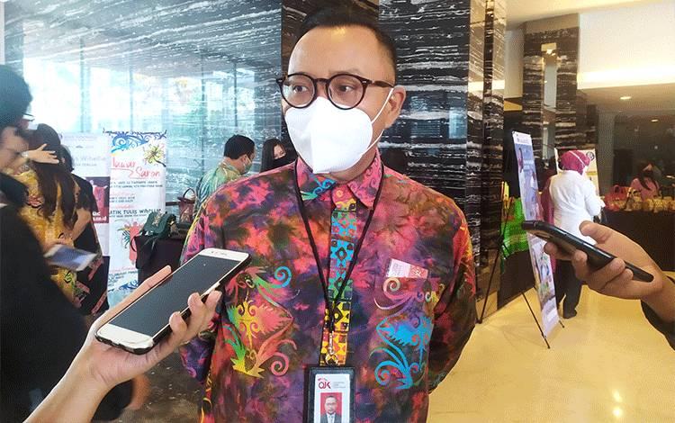 Kepala OJK Kalimantan Tengah, Otto Fitriandy.