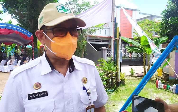 Kepala Dinas Kesehatan Palangka Raya, Andjar Hari Purnomo