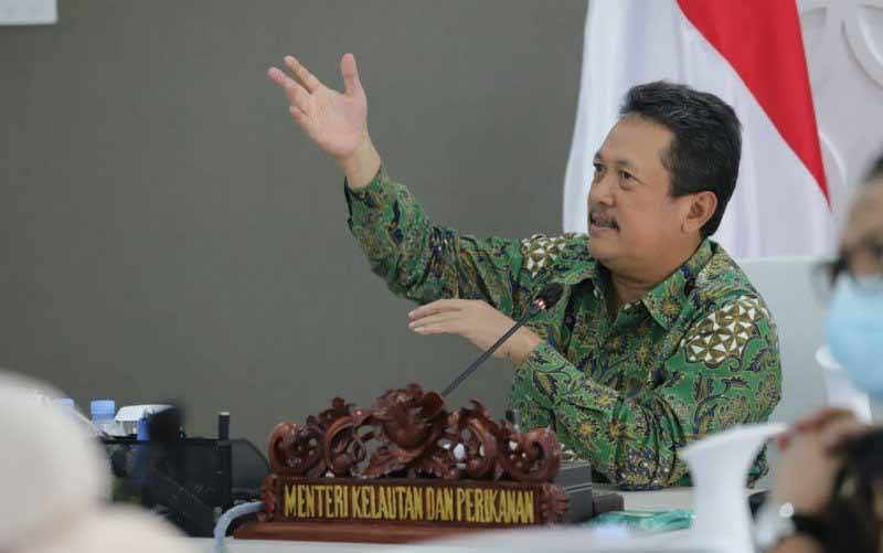Menteri Kelautan dan Perikanan, Sakti Wahyu Trenggono