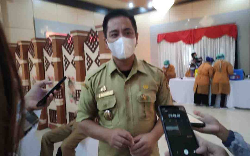 Plt Kepala Dinas Perhubungan (Dishub) Kalimantan Tengah (Kalteng), Yulindra Dedy.