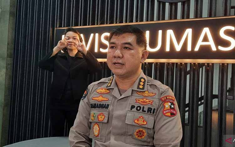Kepala Bagian Penerangan Umum (Kabag Penum) Humas Polri Kombes Ahmad Ramadhan