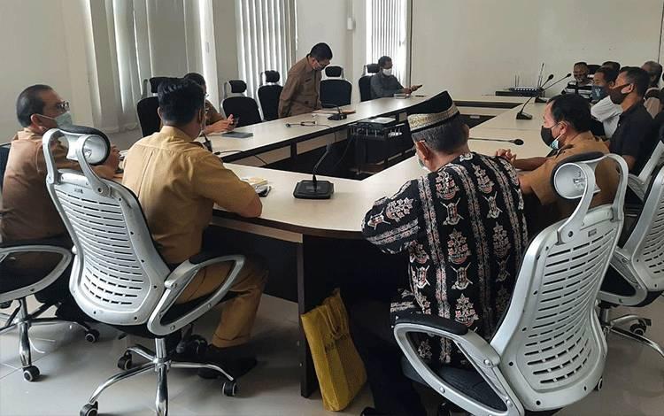 Mediasi pemilik lahan RSUD dan Pemerintah Kabupaten Pulpis, Senin (29/03/2021).