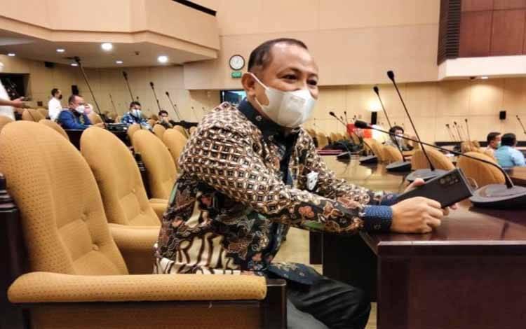 Ketua KONI Kalteng, Eddy Raya Samsuri menghadiri Rakor KONI seluruh Indonesia guna membahas persiapan PON Papua 2021