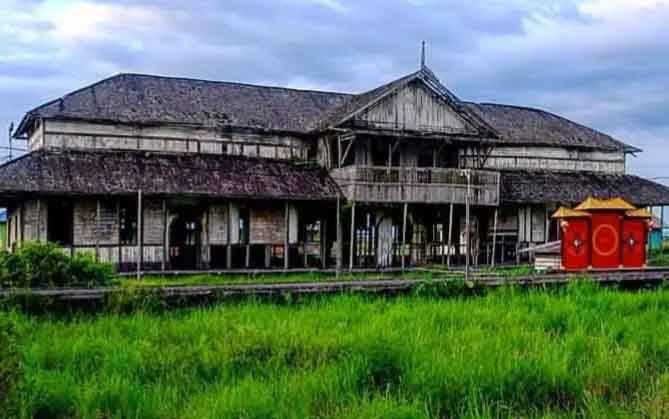 Bangunan tua eks Sekolah Rakyat di Kelurahan Raja Seberang diusulkan dijadikan museum kebudayaan.