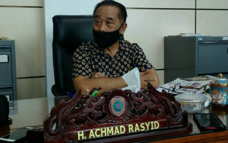Legislator Kalteng, H Achmad Rasyid.
