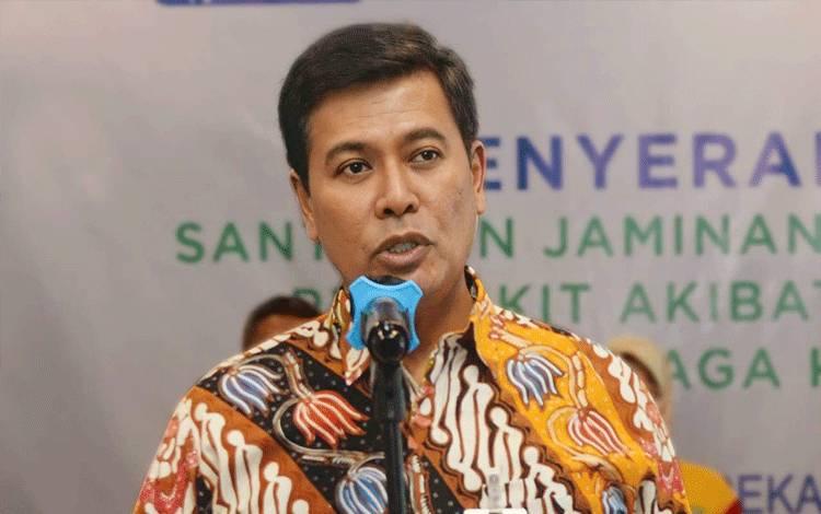 Direktur Utama BPJAMSOSTEK, Anggoro Eko Cahyo