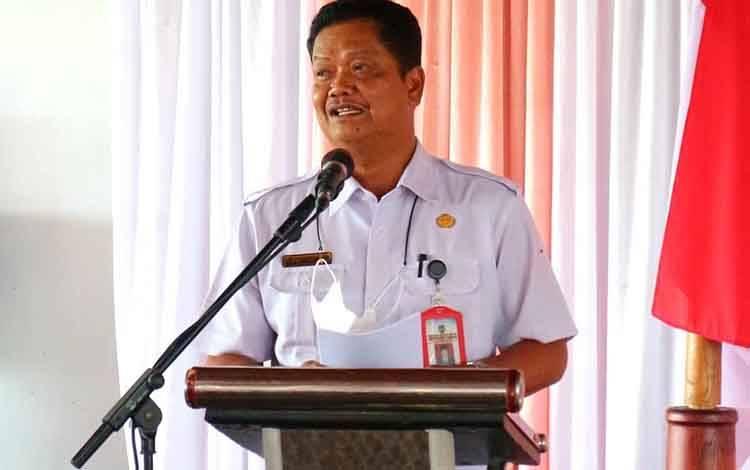 Sekretaris Daerah Kabupaten Seruyan, Djanuddin Noor.