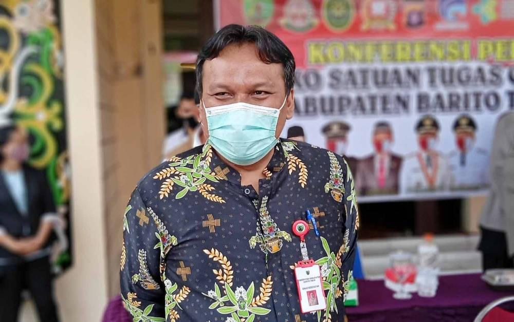 Ketua Bidang Penanganan Kesehatan Satgas Covid-19, Jimmi WS Hutagalung.