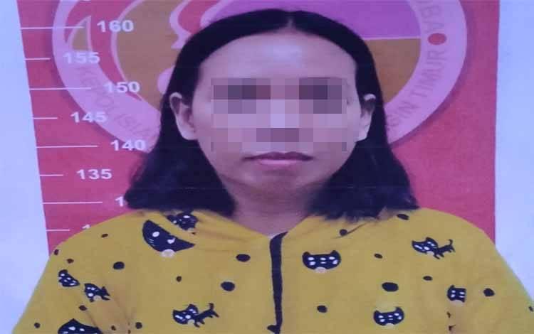 Rahayu alias Yayu tersangka kasus sabu
