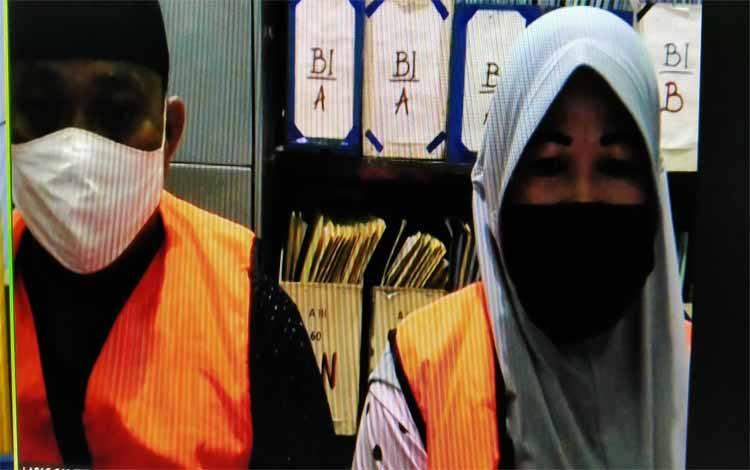 Surya Effendi alias Sur dan istrinya Rahmatul alias Atul tersangka sabu