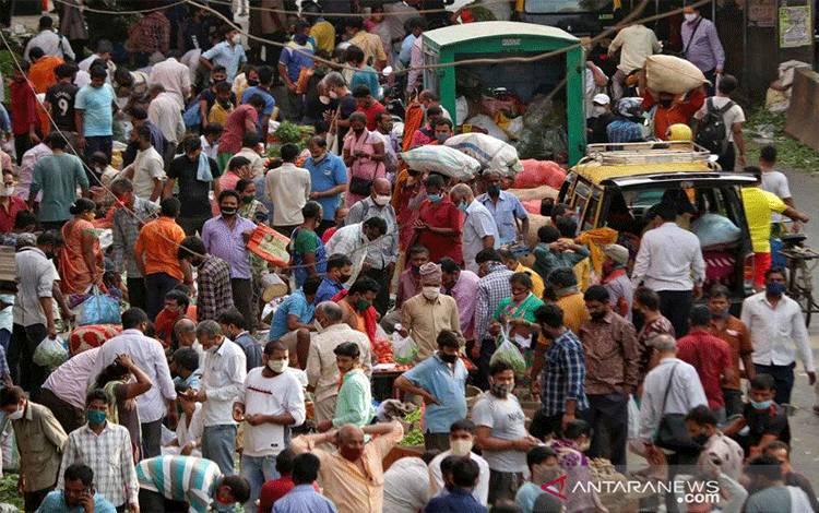 Kasus COVID India Lampaui 24 Juta, Saat Varian Virus B.1.617 Menyebar ke Dunia