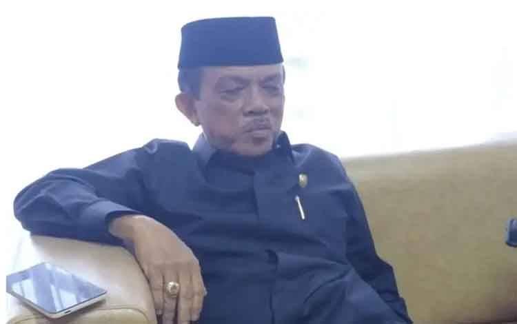 Wakik Ketua I DPRD Kalteng, H Abdul Razak.