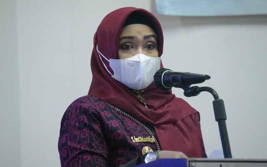 Wakil Wali Kota Palangka Raya, Umi Mastikah.
