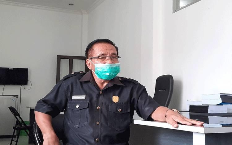 Ketua DPRD Kabupaten Gumas, Akerman Sahidar