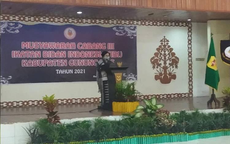Anggota IBI Kabupaten Gunung Mas Capai 300 Orang