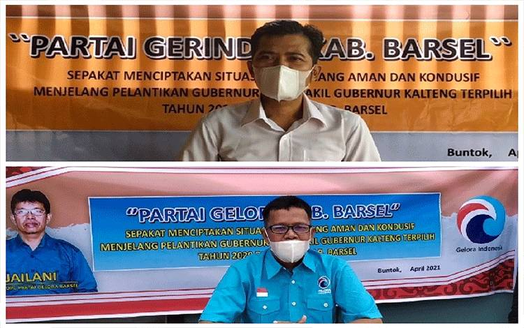 Sekretaris DP Gerindra dan ketua DPD Partai Gelora Barsel